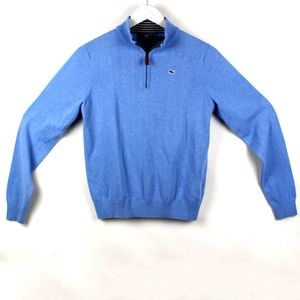 Vineyard Vines Boys Cotton 1/4-Zip Size L